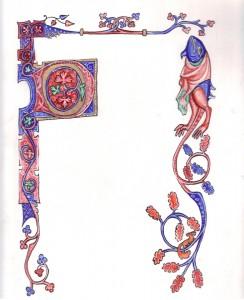 Luttrell Scroll Blank