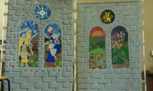 Schattentor Castle Panels - War, and Off to War