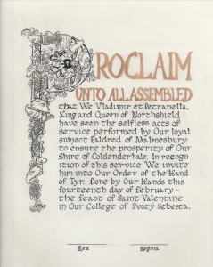 Eladred of Malmesbury's Tyr