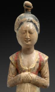 1. Detail of Standing Female Attendant