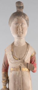 2. Detail of Standing Female Attendant