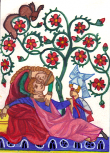The Manesse Lovers