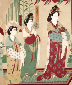 3. Donor portrait of Lady Wang from Taiyuan in worship